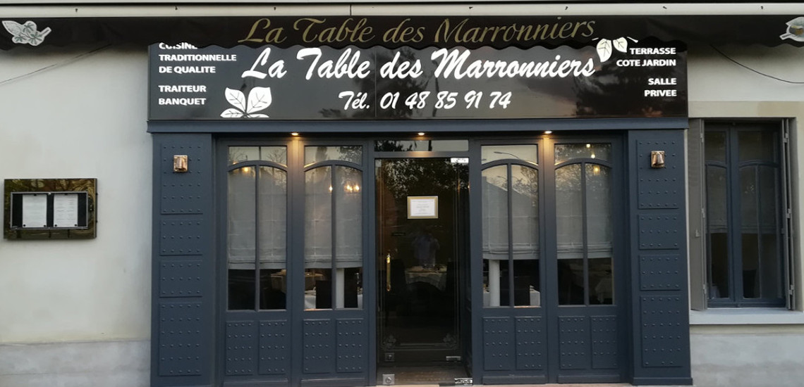 La Table des Marronniers 0